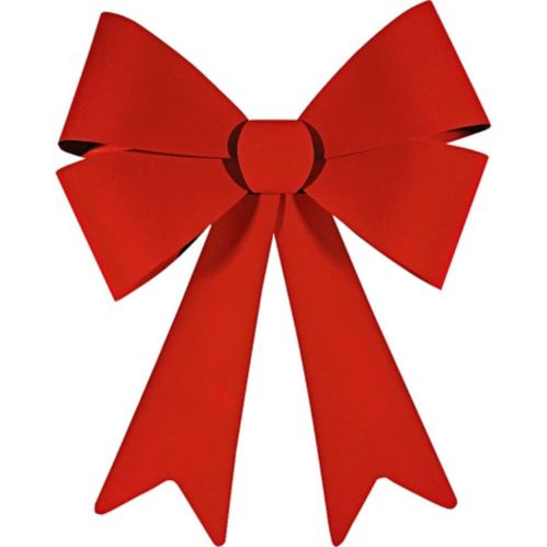 Red Outdoor Bow