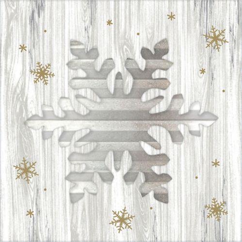 Snowflake Easel Sign