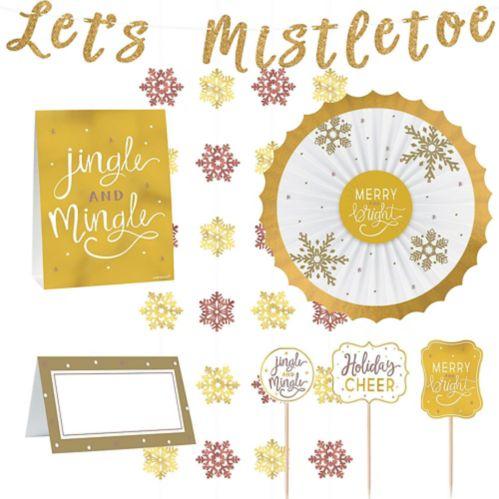 Let's Mistletoe Buffet Decorating Kit, 23-pc