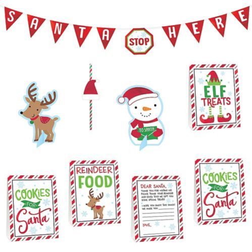 Cookies for Santa Decorating Kit, 8-pc