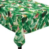 Tropical Jungle Fabric Tablecloth | Amscannull