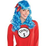 Dr. Seuss Curly Thing 1 & Thing 2 Wig   Amscannull