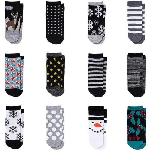 12 Days Of Socks Advent Calendar Party City