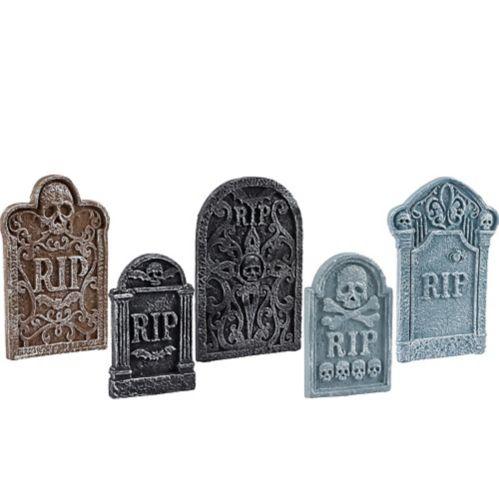 Tombstone Decoration Set, 5-pk