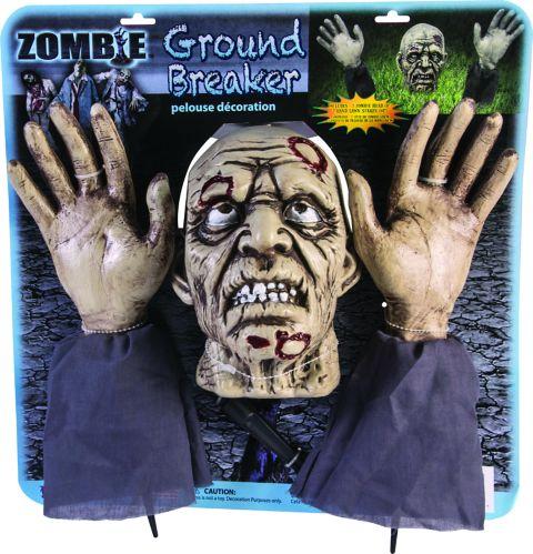 Rubie's Halloween Costume Ground Breaker Zombie Set, 3-pc Product image