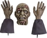 Rubie's Halloween Costume Ground Breaker Zombie Set, 3-pc | Rubie's Costume Conull