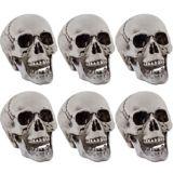 Plastic Skulls, 6-pk