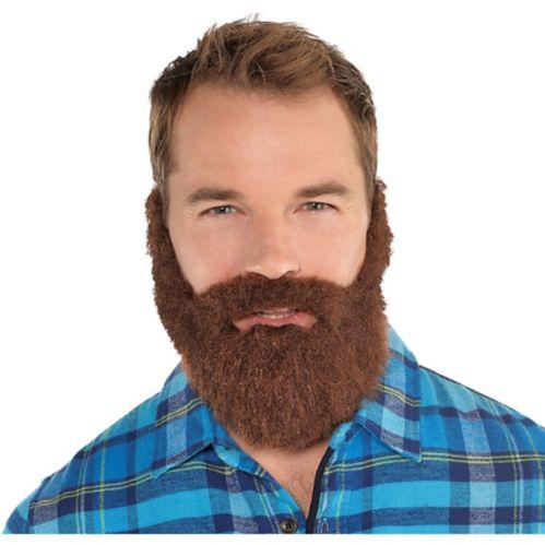 Brown Lumberjack Facial Hair Set