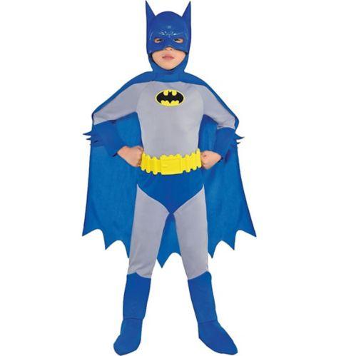 Costume de Batman classique de L'alliance des héros pour jeunes garçons