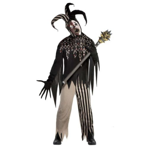 Men's Twisted Jester Costume