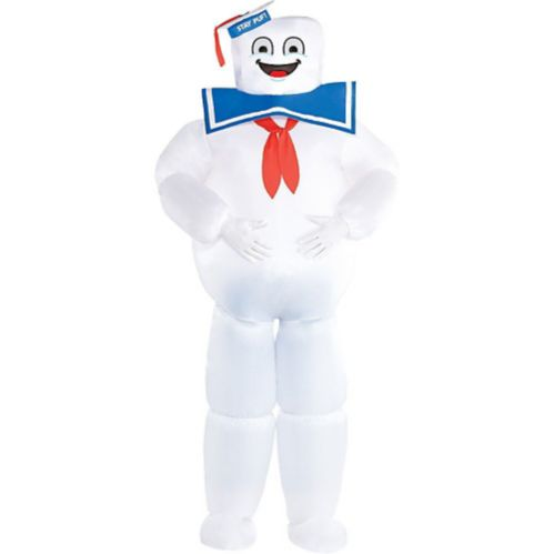 Ghostbusters Classic Inflatable Stay Puft Marshmallow Man Adult Costume