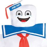 Ghostbusters Classic Inflatable Stay Puft Marshmallow Man Adult Costume | Sonynull