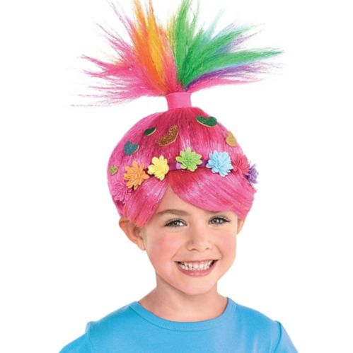 Trolls World Tour Multicolour Poppy Wig