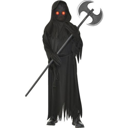 Child Light-Up Glaring Grim Reaper Costume
