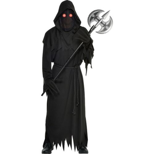 Adult Light-Up Glaring Grim Reaper Costume