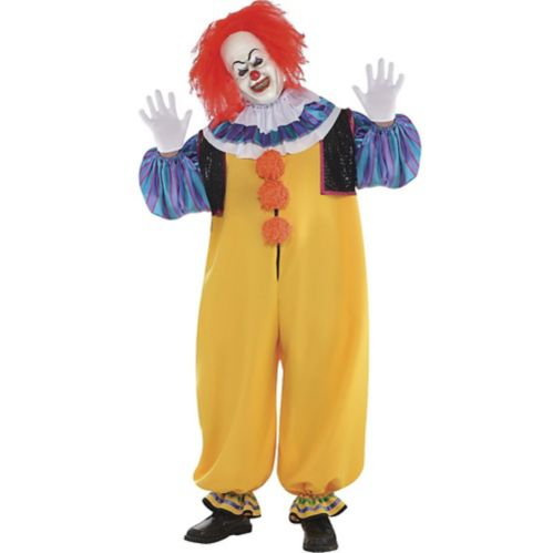 Adult Pennywise Costume - It, Plus Size