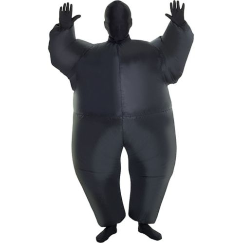 Child Inflatable Black Morphsuit