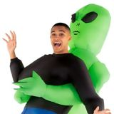Adult Inflatable Alien Pick-Me-Up Costume