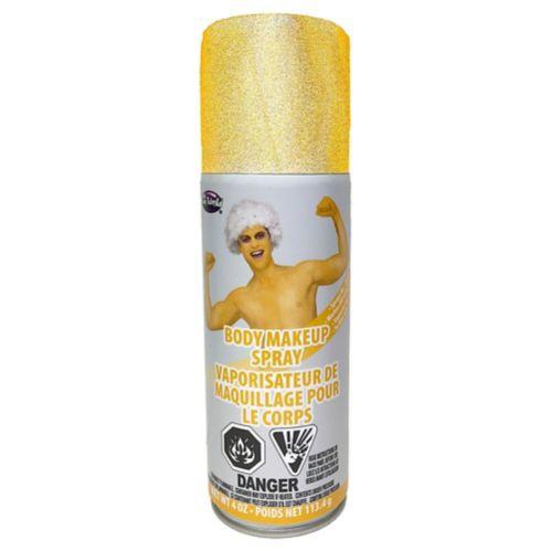 Gold Body Makeup Spray