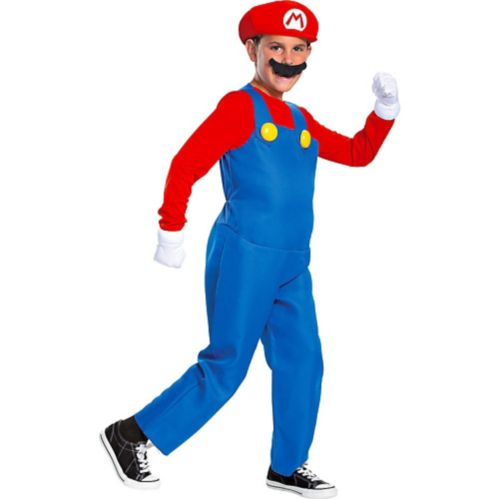 Super Mario Brothers Child Mario Costume