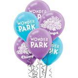 Ballons Wonder Park, paq. 6