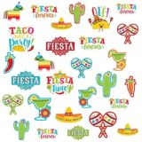 Fiesta Time Cutouts, 30-pc