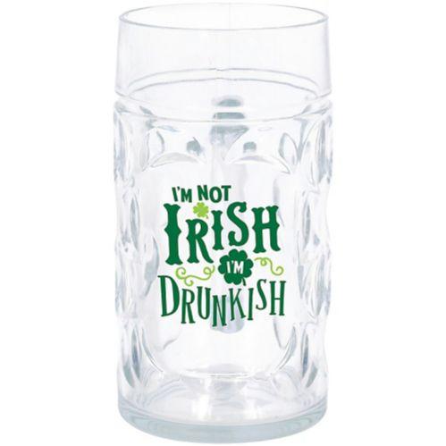 I'm Not Irish I'm Drunkish Beer Mug