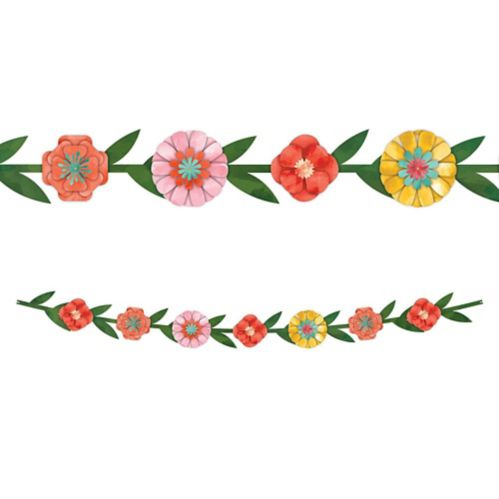 Bright Floral Banner