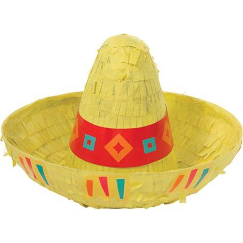 Mini Sombrero Piñata Decoration