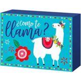 Como Te Llama Block Sign