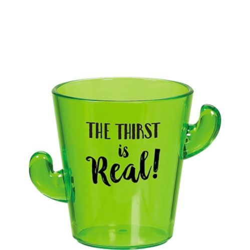 Thirst Is Real Cactus Shot Glass