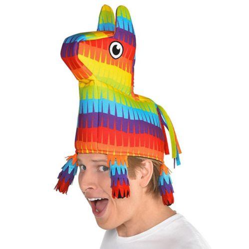 Rainbow Donkey Pinata Hat