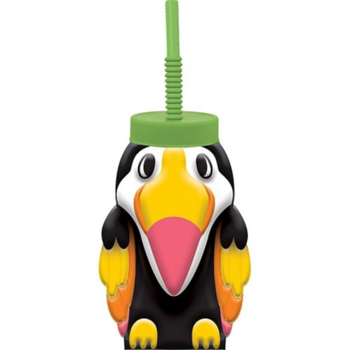 Toucan Cup with Straw