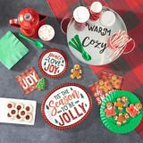 Cozy Holiday Dessert Plates, 8-pk | Amscannull