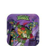 Rise of the Teenage Mutant Ninja Turtles Dessert Plates, 8-pc | Nickelodeonnull