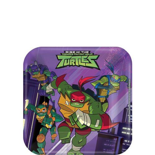 Rise of the Teenage Mutant Ninja Turtles Dessert Plates, 8-pc