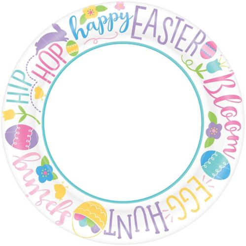 Hoppy Easter Dinner Plates, 40-pk