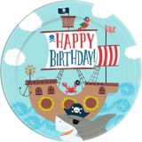 Pirate Shark Lunch Plates, 18-pc   Amscannull