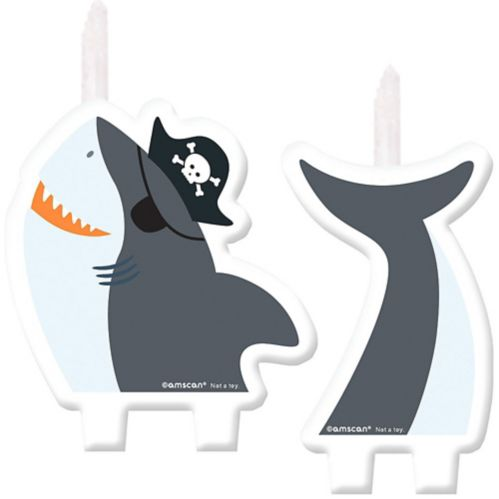 Pirate Shark Candle