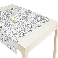 Colouring Easter Paper Table Cover