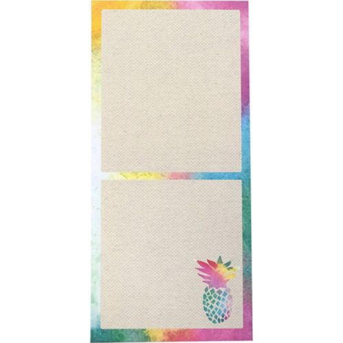 Colourful Pineapple Magnet List Pad