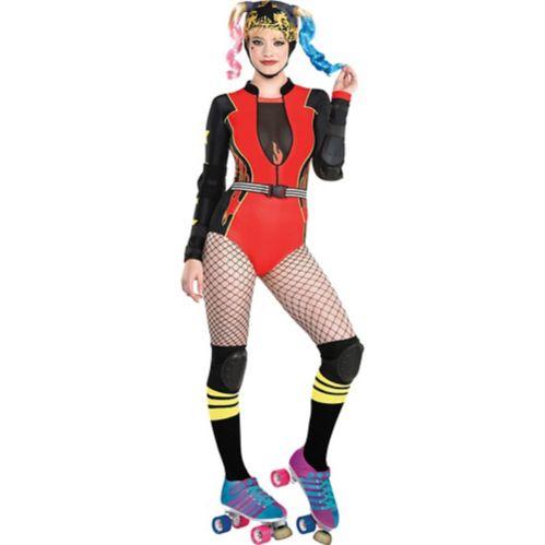 Birds of Prey Harley Quinn Adult Costume, X-Large