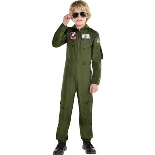 Child Flight Top Gun 2 Movie Maverick Costume