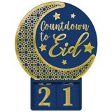 Countdown to Eid Standing Sign | Amscannull