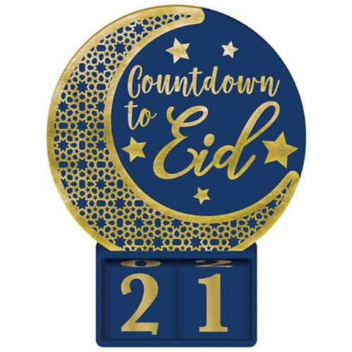 Countdown to Eid Standing Sign Product image