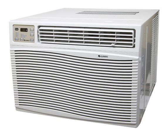 8000 BTU Window Air Conditioner, White