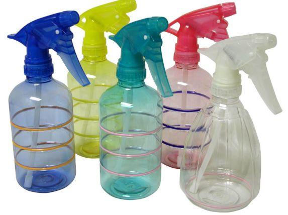 Spray Bottle, Assorted, 400-mL