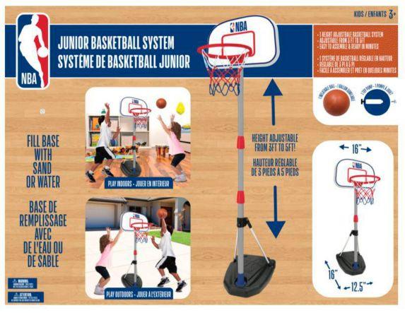 NBA Junior Basketball System