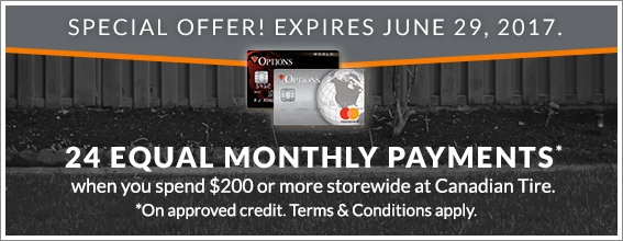 Special Offer!  Expires June 20, 2017.  24 Month Financing