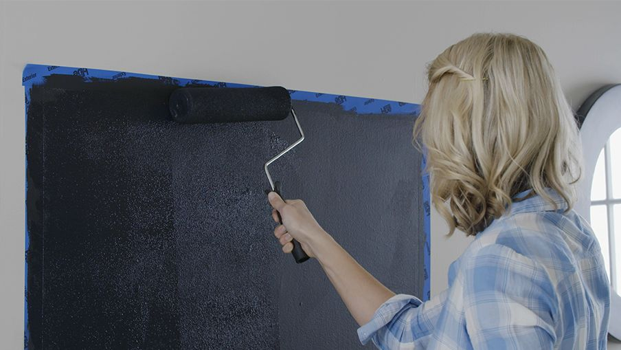 Comment Faire Un Mur En Tableau Noir Canadian Tire